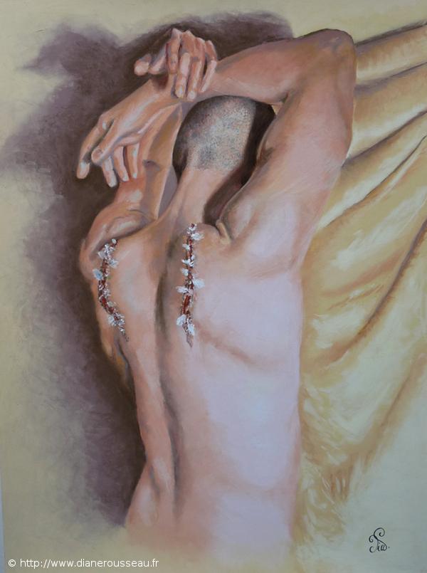 Renaissance, Diane Rousseau, pastel sec